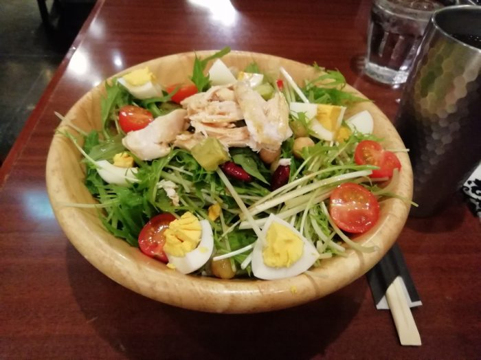 ぼてぢゅうサラダ