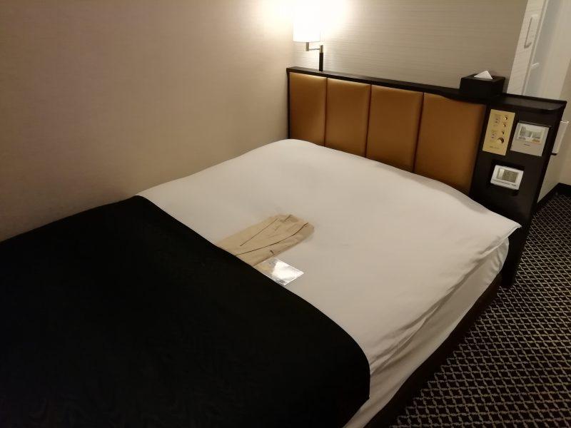 アパホテルベッド