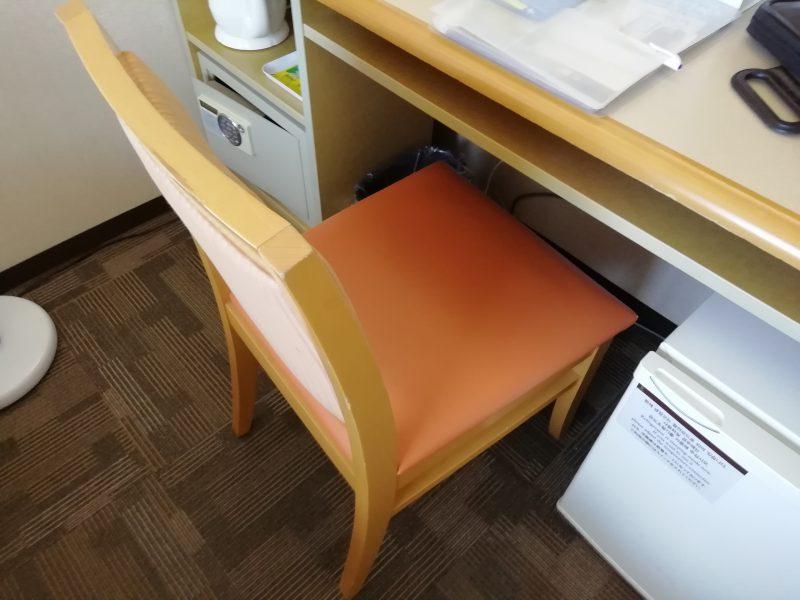 東横イン釜山駅2の椅子