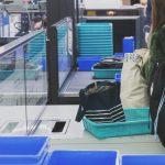 空港保安検査場