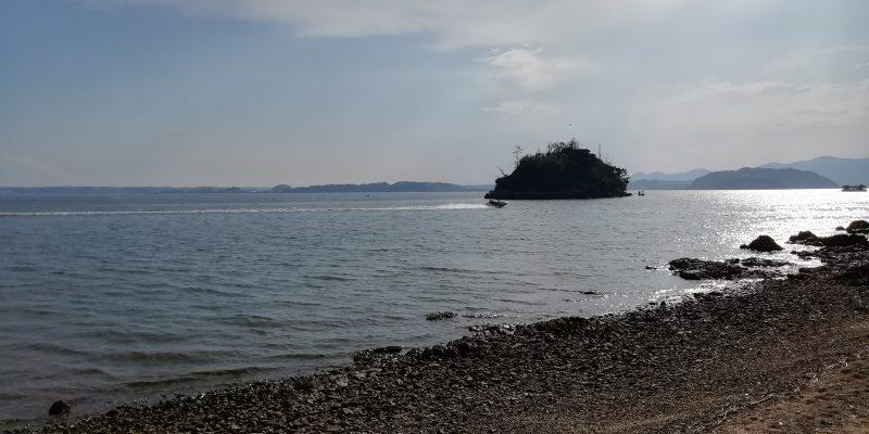 大崎半島からの島