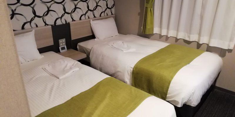 エコノミーツインのベッド