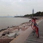 深セン湾公園サイクリング